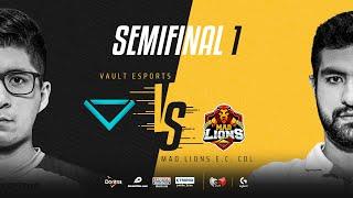 Vault Esports VS MAD Lions E.C. Colombia | Semifinales | Golden League Clausura - Playoffs | Mapa 1