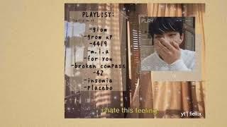 a soft n sad stray kids & 3racha playlist