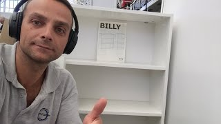 🔴Live Stream IKEA BILLY BOOKCASE