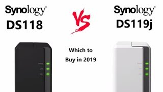 Synology DS118 vs DS119j NAS for Compact NAS