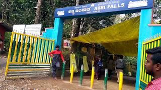 ABBEY Falls (Abbi Falls Full View from entrance) Madikeri Coorg Tourist Place in Karnataka