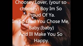 Aaliyah ~ Choosey lover Lyrics