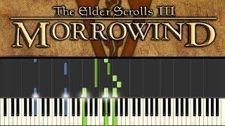 Morrowind (Piano Tutorial + sheets) - Call of Magic/Nerevar Rising: Main theme