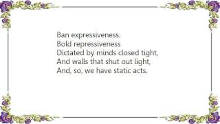 Fates Warning - Static Acts Lyrics