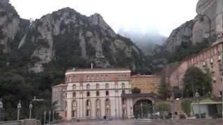 preview picture of video 'Montserrat, Spain - Santa Maria de Montserrat HD (2013)'