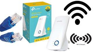 TP-LINK WA850RE Wi-Fi Extender Setup