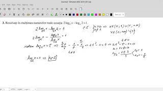 Simulare Bacalaureat 2019 - M1 - Matematică