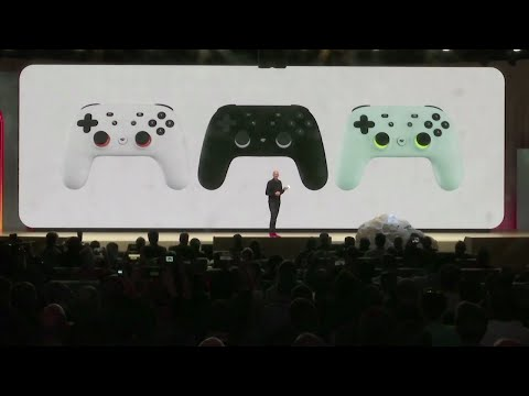 Google plans to launch a video game streaming platform called Stadia, positioning itself to take on traditional video game business. (March 19)