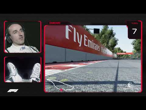 Robert Kubica's Virtual Hot Lap of Canada | Canadian Grand Prix