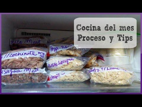 OAMC | Cocina para 1 mes: Proceso y tips