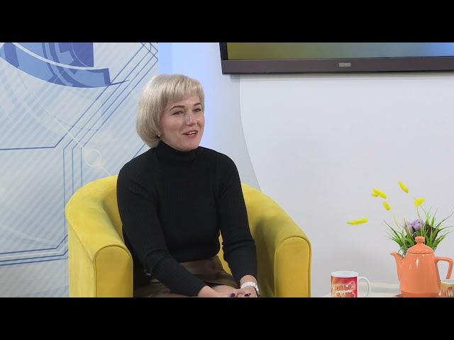 Гость программы «Новый день» Начальник отдела ангарского ЦЗН Кристина Копытова