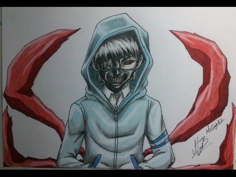 Dibujo De Kaneki