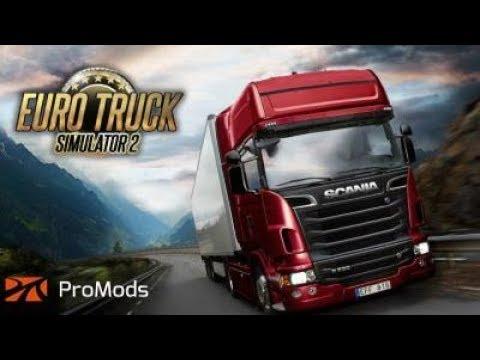 🔴LIVE FR PC  ETS 2 PROMOD EPI Transport recrute partie:11
