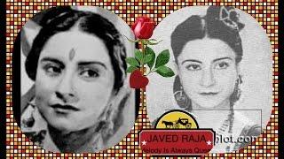 PARO DEVI~Film-KISI KI YAAD-[1950]- Mahal Sapano Ka