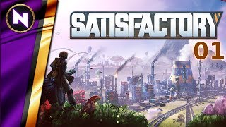 SATISFACTORY Early Alpha #1 Planetfall