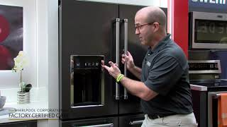 How to use the control lock on your refrigerator