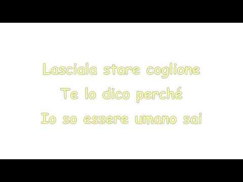 Lasciala stare - Max Pezzali Lyrics