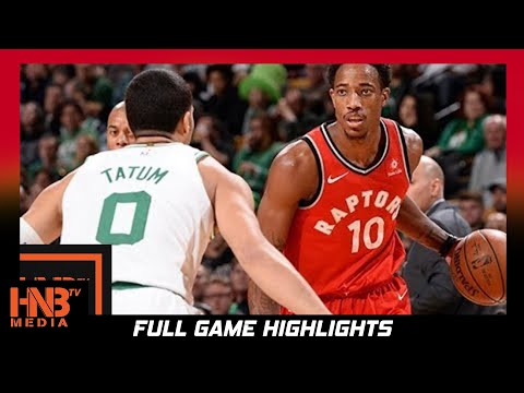 Boston Celtics vs Toronto Raptors Full Game Highlights / Week 4 / 2017 NBA Season