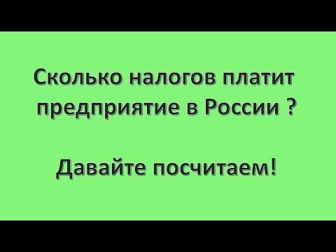 Сколько налогов платит предприятие в России