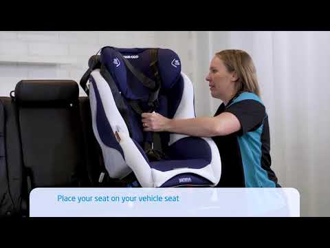 Maxi-Cosi Moda Car Seat ISO Forward Facing Installation Video