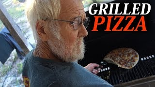 THE BEST GRILLED PIZZA EVER!!