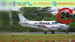 Pick the Paramount Air Ambulance in Ranchi
