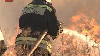 За минувшие сутки спасатели более 40 раз выезжали на тушение травяных пожаров в Новгородском районе