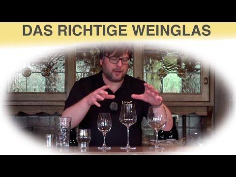 Weinmythos - Das richtige Glas