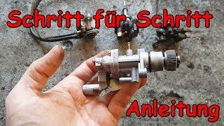 Ölpumpe und Öltank Einbau 2-Takt Roller | Rollerfix