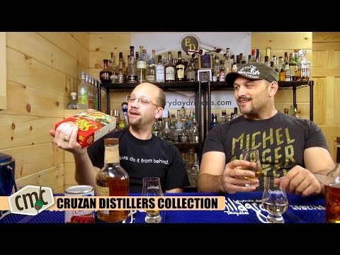 Cruzan Distiller's Collection Review, Dark Light and Single Barrel