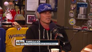 Vanilla Ice Reveals How He Was Treated by Tupac & Other Rappers | The Dan Patrick Show | 7/12/17