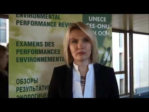 Обзор результативности экологической деятельности Беларуси: И.В.Малкина видео