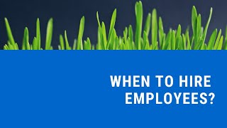 How To Know When It Is Time To Hire A Lawn Care Employee