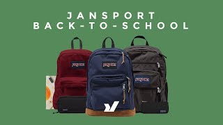 Back To School With Jansport