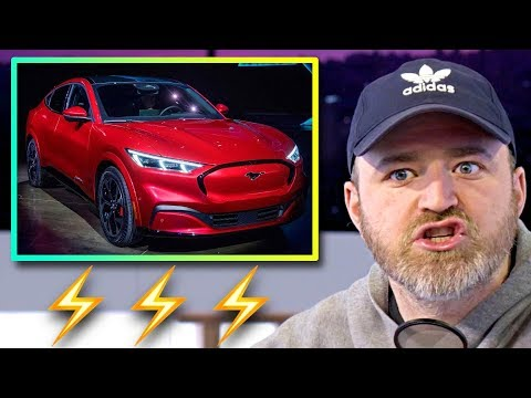 Lew Later Reacts To The Ford Mustang Mach-E