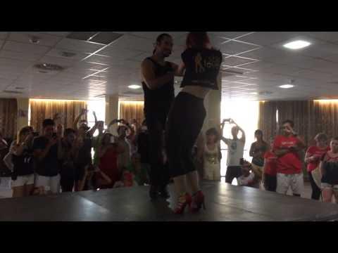 Pedro García & Alicia Bachata - Cullera Salsa Festival 2014 2014-08-24