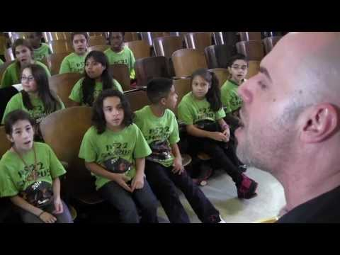 """""""Waiting For Superman"""" Daughtry ft. PS22 Chorus"""