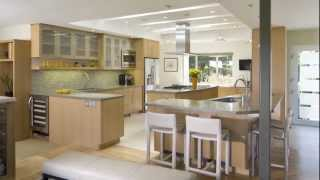Natural Light Becomes The Focus Of This Contemporary Kitchen