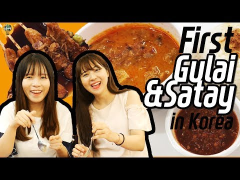 Korean Girls Tried [Satay] And [Gulai] For The First Time!|꼭 먹어봐야 하는 인도네시아 음식 추천!!