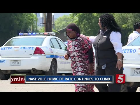 Nashville Homicide Rate Continues To Climb