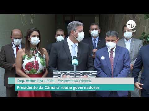 Presidente da Câmara reúne governadores - 02/03/21