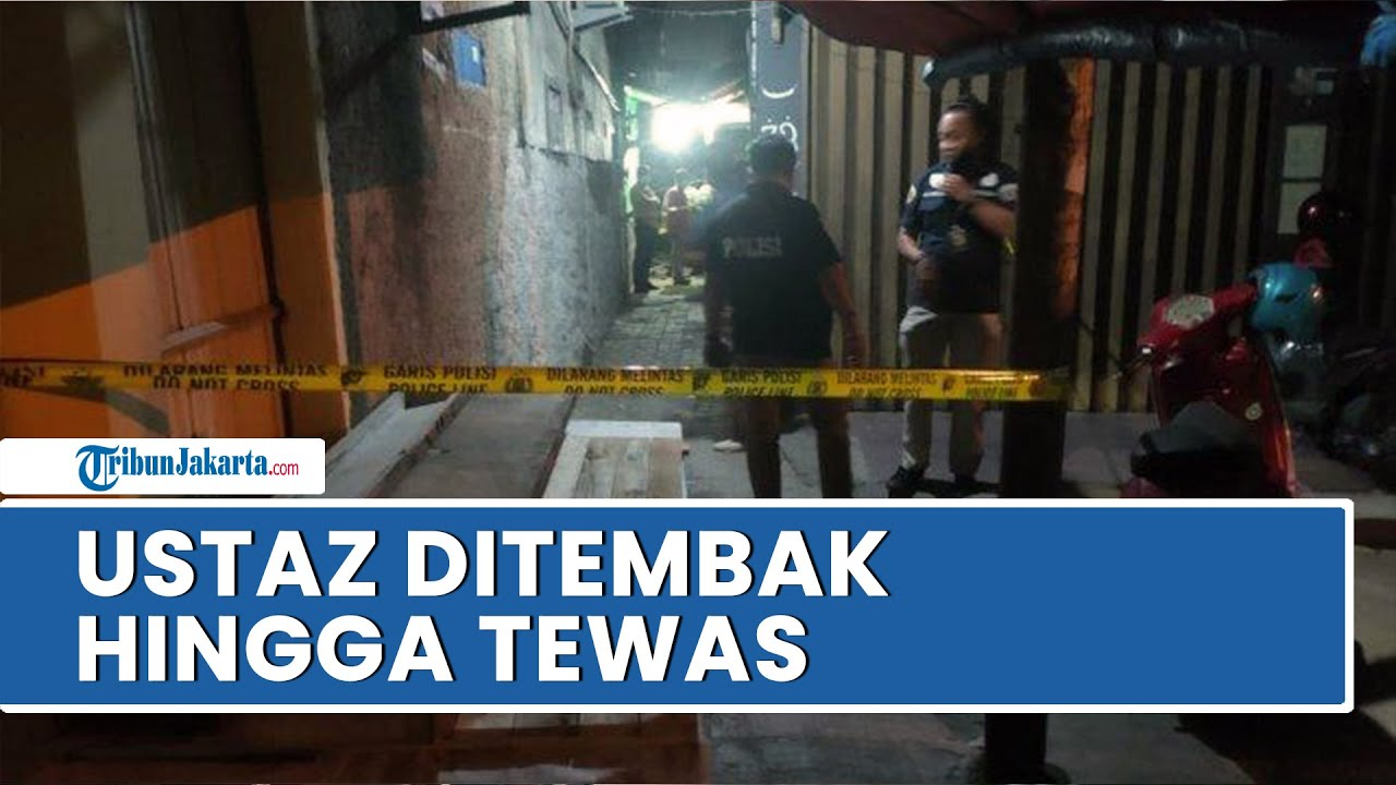 Seorang Ustaz Tewas Ditembak setelah Salat Maghrib, Pelaku Sudah Pantau Lokasi Selama Beberapa hari