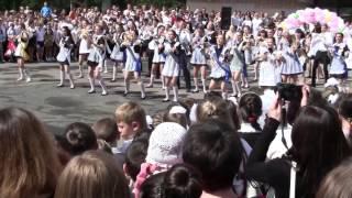 59 Флешмоб на Последнем звоноке 2013 42 школа  Луганск