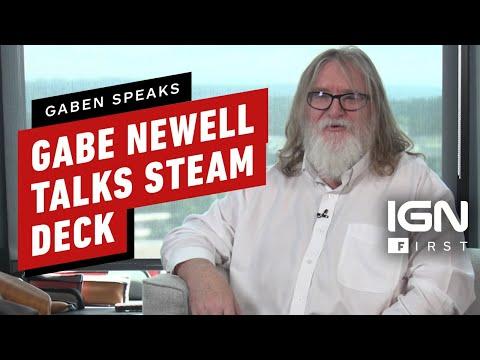 Gabe Newell parle du Steam Deck de