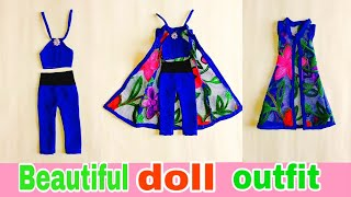 Amazing Outfit For Doll   Beautiful Doll Dress