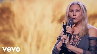 YouTube video E-card Relive the music the memries the magic of Barbra Streisand in concert on her new live