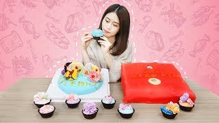 E38 How to make fondant cakes at office?| Ms Yeah