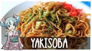 ¡Yakisoba! ¡Fideos fritos!