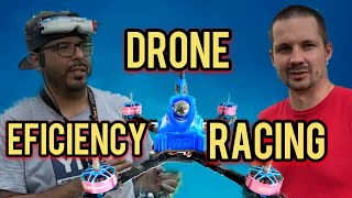Efficiency Racing - Drone racing - Who has the smoothest lines - Feat Limon and El profe