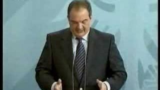 """Οι Ευρωπαίοι ομόλογοι λένε """"Bravo Kostas"""", μόνο όταν ο Καραμανλής ΣΤΑΜΑΤΑΕΙ να μιλάει ξενόγλωσσα! (από Hank, 10/01/09)"""